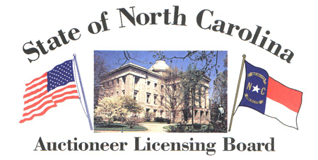 North Carolina Auctioneer Licensing Board