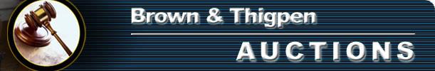 Brown & Thigpen Auctions, LLC.