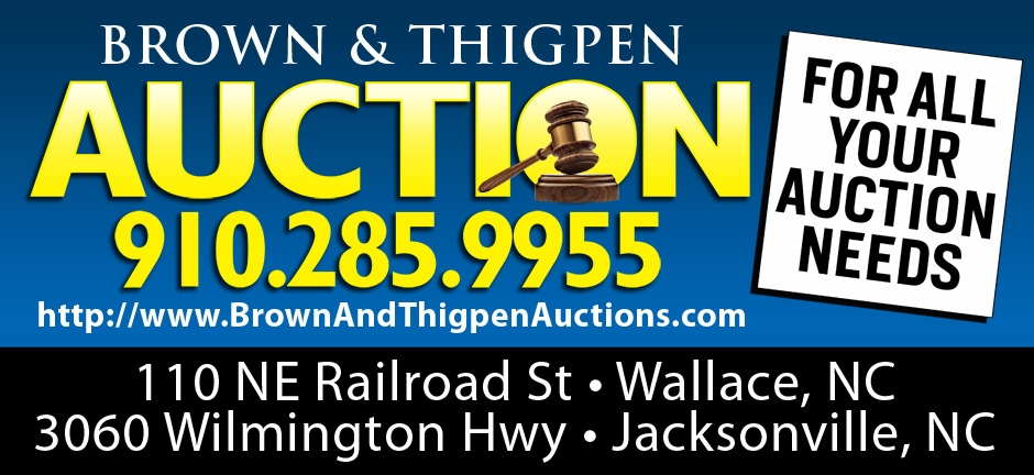 Brown and Thigpen Auctions